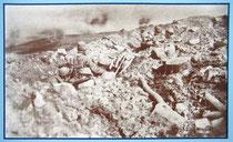 Les Eparges - französische Stellung im April 1915   Infotafel