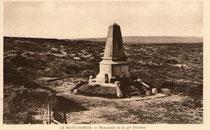 Gedenkstein des 40. Division  - Postkarte