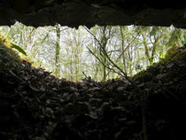 Verdun Verdunbilder Caureswald Bunker im Caureswald Col. Driant