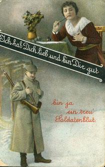 Feldpostkarte 1918