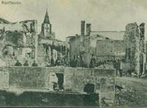 Verdun, Verdunbilder, Rene Reuter, Montfaucon