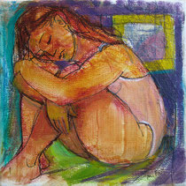 Marie Fox, Sleeping (2011), http://mariefoxpaintingaday.blogspot.ca/