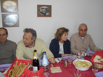 Da sinistra, Armando, gabrio, Flavia e Franco