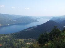 Il lago D'Orta dal Belvedere di Quarna