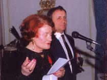 Catherine Paysan remise de médaille