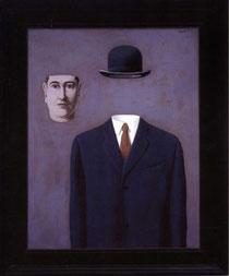 Magritte, Uomo senza volto