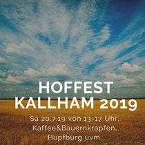 HOFFEST bei Familie Baumberger in Kallham