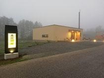 Heute morgen, im Nebel
