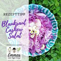Blaukraut Cashew Salat Rezept von Martina
