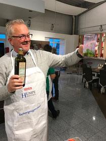 Wieder einmal ein leckeres Gemeinschafts-Kochen der Männer im Küchenstudio Humpe in Batenhorst