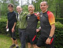 Annick, Thierry, Patrick et Christophe