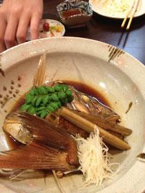 鯛の煮つけ
