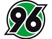 Das Logo des Fußball-Erstligisten Hannover 96. Foto: