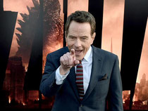 Hauptdarsteller Bryan Cranston bei der «Godzilla»-Premiere in Hollywood. Foto: Paul Buck