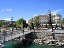 Mediterranes Flair: Genf eignet sich gut für eine Städtereise. Foto: Bernhard Krieger