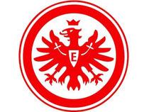 Das Logo des Fußball-Erstligisten Eintracht Frankfurt. Foto: