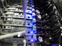 Server im neuen Rechenzentrum der Deutschen Telekom in Biere (Sachsen-Anhalt). Foto: Jens Wolf