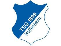 Das Logo des Fußball-Erstligisten TSG 1899 Hoffenheim. Foto: