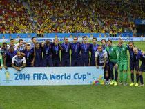 Die Niederländer haben bei der WM in Brasilien den dritten Platz belegt. Foto: Robert Ghement