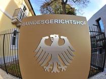 Außenaufnahme des Bundesgerichtshof in Karlsruhe. Foto: Uli Deck