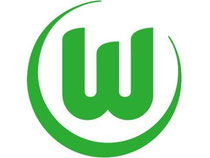 Das Logo des Fußball-Erstligisten VfL Wolfsburg. Foto: