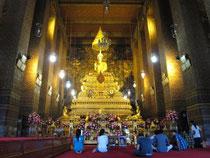 Die Hauptattraktionen von Bangkok, wie der Tempel Wat Pho, sind trotz der Unruhen für Touristen geöffnet. Foto: Andrea Warnecke