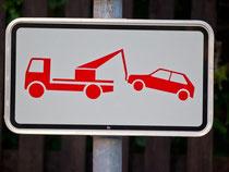 Private Abschleppdienste dürfen bei Falschparkern keine überhöhten Beträge geltend machen. Foto: Daniel Karmann