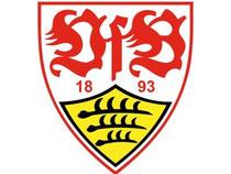 Das Logo des Fußball-Erstligisten VfB Stuttgart. Foto: