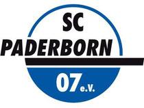 Das Logo des Fußball-Erstligisten SC Paderborn 07. Foto: