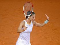 Andrea Petkovic hat in Stuttgart verloren. Foto: Daniel Maurer