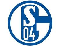 Das Logo des Fußball-Erstligisten FC Schalke 04. Foto: