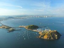 Highlight für Kreuzfahrer: Blick auf den Amador Causeway, der Panama City mit den vorgelagerten Inseln verbindet. Foto: www.visitpanama.com
