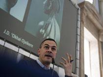 Massimiliano Gioni, Kurator der Biennale in Venedig. Foto: Emily Wabitsch