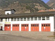 Die Feuerwehrhalle von 1986-2007