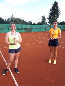 Unsere beiden Finalistinnen der diesjährigen Clubmeisterschaft.