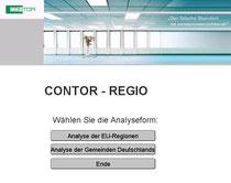 Standortanalyse mit Contor-Regio