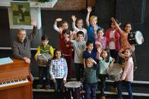 Jugendchor-Probe - St. Nicolas