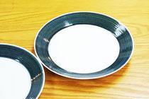 白山陶器 麻の糸プレートの写真