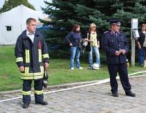 Michael Nix (l.) und Bernd Schulze waren sich einig und hatten den Tag der offenen Tür schon lange geplant.