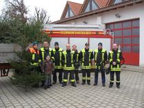 Christbaumsammeln 2012