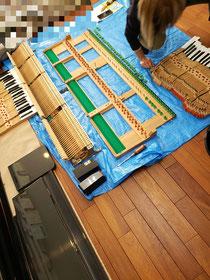 弊社ピアノクリーニング!他店圧倒!