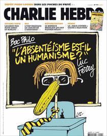 Une de Charlie Hebdo 15/06/2011 (DR)