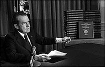 Discours de Nixon du 29 avril 1974 (source Washington Post - AP - DR).