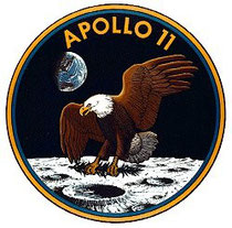 Patch de la mission Apollo XI (NASA DR))