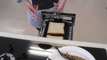 サンマのニオイはパンにつきません。