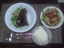 昨日のご飯