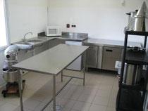 salle de préparation de l'élevage d'escargots
