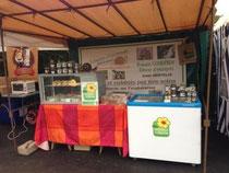 saveurs d'escargots sur le marché de noel de Poix