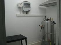 salle de l'autoclave de l'élevage d'escargots
