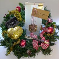 Stilvolle Geschenkverpackung zu Weihnachten immer ein Hingucker